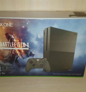 Xbox one s 1Tb Battlefield 1 bundle