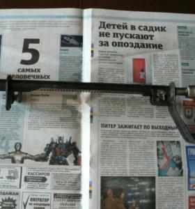 Новый рычаг ручного тормоза а/м Волга Газ 24