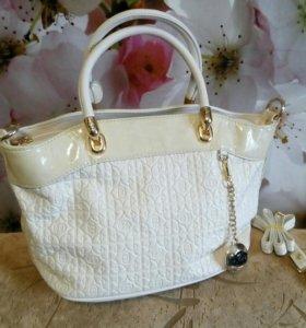 Новая кожаная сумка Balina