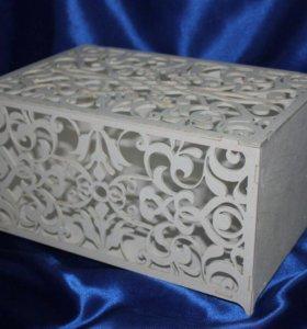 Коробка для денежных подарков молодоженам