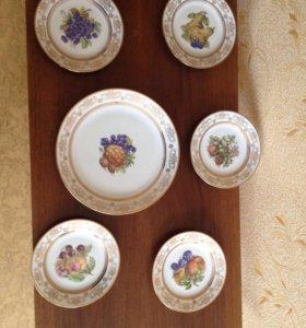 Тарелки для фруктов
