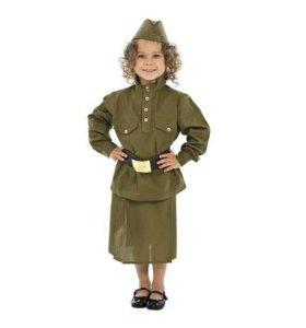 Прокат детских военных костюмов