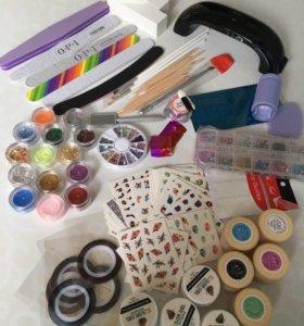 материалы для покрытия ногтей гель-лаком