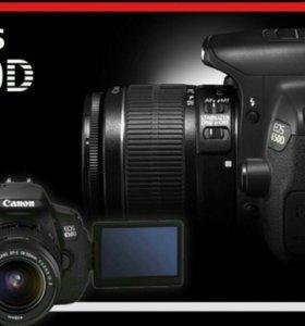 Canon eos 650d 18-55