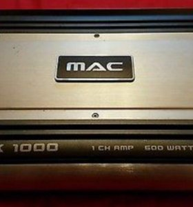 Mac Audio MPX 1000 усилитель новый