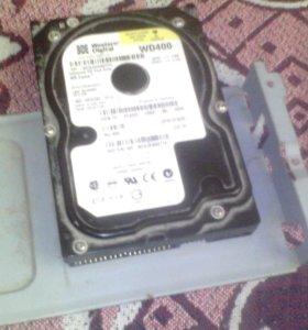 Жёсткий диск WD400 40gig