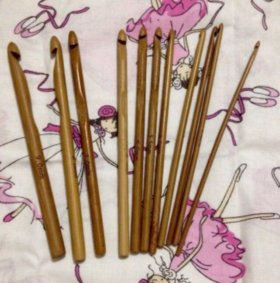 Крючки бамбуковые