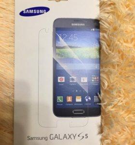 Защитная плёнка для телефона Самсунг 5s