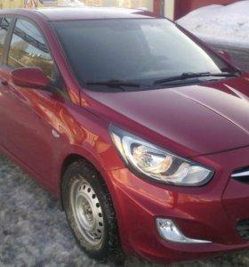 Hyundai Solaris 2012 АКПП