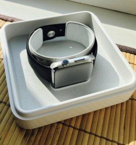 Apple Watch 42 мм, нержавеющая сталь, сапфир