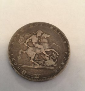 GREAT BRITAIN. 1 CROWN 1820