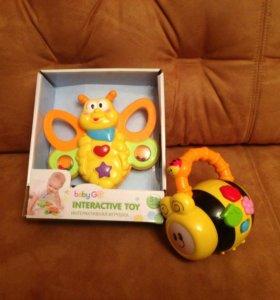 Интерактивные игрушки Baby Go 3+ и 6+