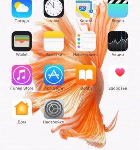 Айфон 6s+ отличней состояния