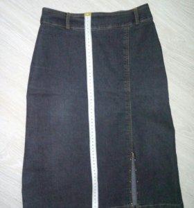 джинсовая юбка, 40-42