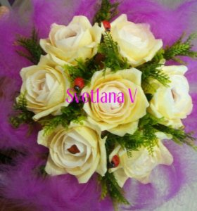 Сладкий подарок Букет роз ,,Нежность,,