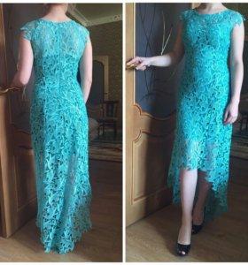 Платье, гипюр.