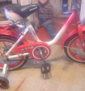 Детский велосипед стелс 110