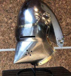 Шлем рыцарский