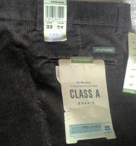 Новые вельветовые брюки Dockers Khakis