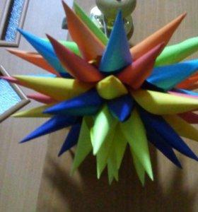 Оригами поделка.