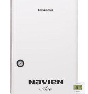 Газовый 2х контурный котел Navien Ace-16k White
