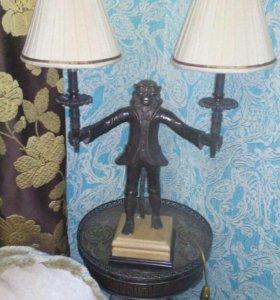 Лампа настольная Обезьяна