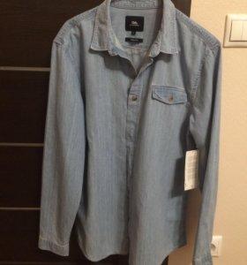 Новая джинсовая рубашка С&А, Л