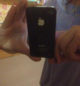 Продам айфон 4s черный, 16 гб , не глючит.