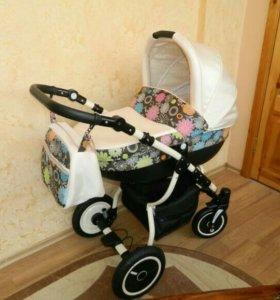 Детская коляска 2в1 (Польша) Lonex Speedy V Light