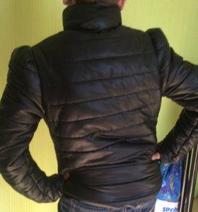 Куртка на девочку 11-12 лет. Рост до 150 см