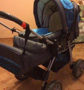 Детская коляска 3 в 1 + автолюлька