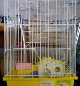 Клетка для грызунов ( хомяки , мыши , крыски)