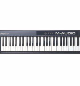 MIDI клавиатура, клавиши, синтезатор