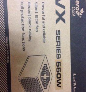 Блок питания Aerocool 550W Retail VX-550