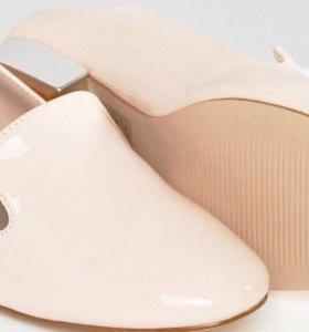 Новые женские розовые туфли лоферы балетки
