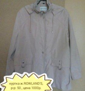 Женская куртка ROWLAND'S