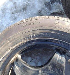Летние шины Dunlop r16