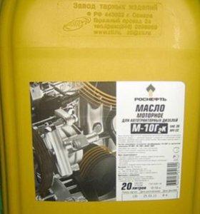 Моторное масло М10-Г2К