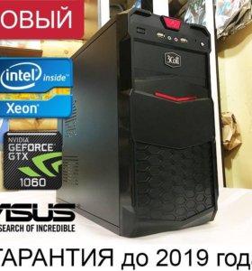 4 ядра XEON E3 / 16Gb / GTX 1060 6Gb / ssd+hdd