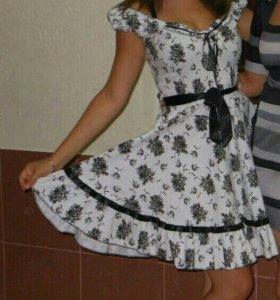 Летнее платье 44-48
