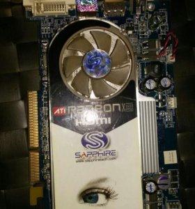 Видео карта Radeon X1600pro 256MB DDR2