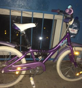 Детский велосипед (девичий)