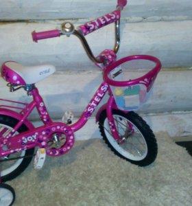 Детский велосипед stels новый для девочек