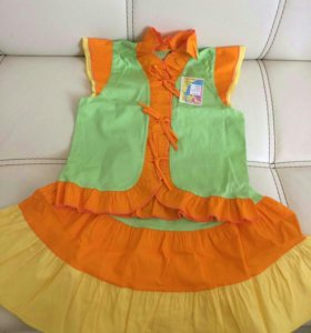 Костюм платье