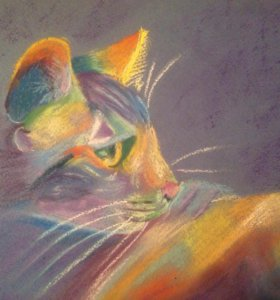 """Картина """"Кошка"""""""