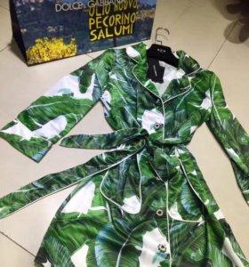 Dolce & Gabbana платье-халат