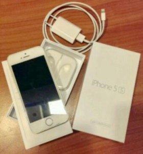 iPhone 5s 64gb+LTE+отпечаток