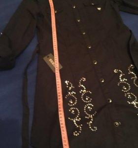 Guess 32-34-40 платье рубашка туника