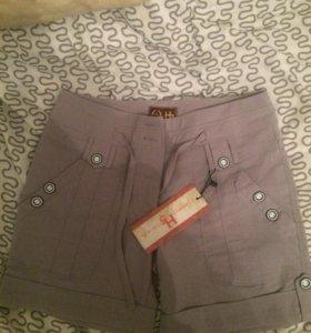 Новые женские шорты 46 размер