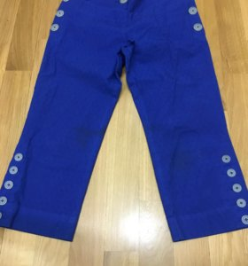 Синие брюки на 10 лет